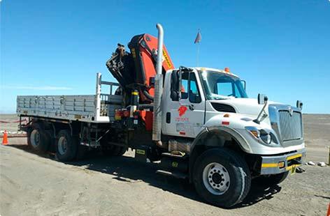 camiones grua de brazo articulado