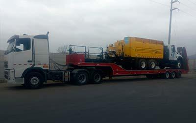 Transporte de carga pesada y sobredimensionada